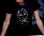 T-shirt Piciu nera&gold