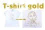 T-shirt Piciu gold